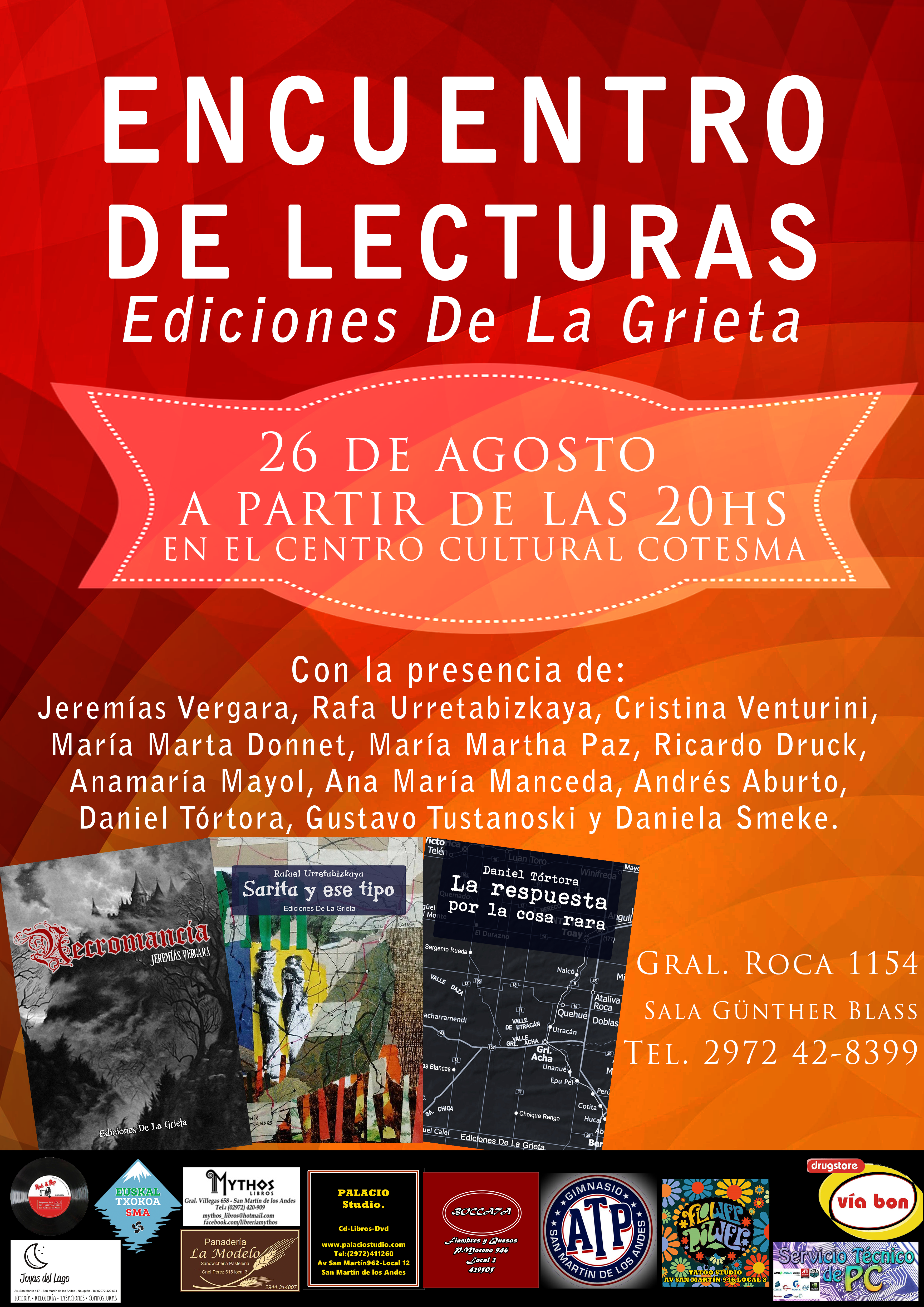 poster a3 lecturas